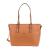 PIERRE CARDIN - Γυναικεία τσάντα ώμου PIERRE CARDIN καφέ