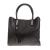 PIERRE CARDIN - Γυναικεία τσάντα χειρός με print PIERRE CARDIN μαύρη