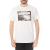 QUIKSILVER - Ανδρική μπλούζα QUIKSILVER λευκή