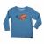 QUIKSILVER - Παιδική μπλούζα Quiksilver μπλε