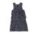 SAM 0-13 - Παιδικό τζιν φόρεμα SAM 0-13 μπλε με λουλούδια