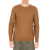 SSEINSE - Ανδρική πλεκτή μπλούζα SSEINSE καφέ