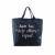 TOMS - Γυναικεία tote τσάντα TOMS NAVY PRINTED μπλε