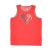 UNDER ARMOUR - Αγορίστικη αμάνικη μπλούζα RUN N GUN κόκκινη