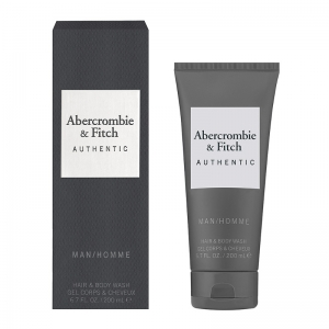 ABERCROMBIE & FITCH AUTHENTIC MEN HAIR & BODY WASH TUBE 200ml