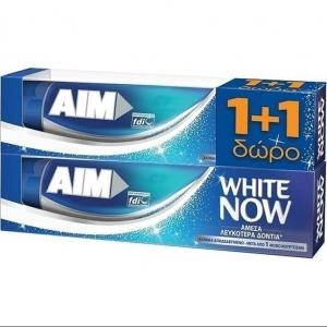 Aim Οδοντόκρεμα White Now