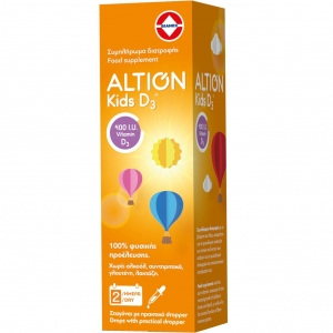 Altion Kids D3 400IU Συμπλήρωμα