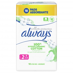 Always Cotton Protection Long