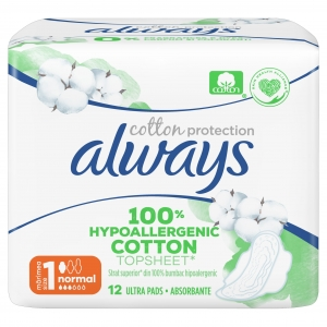 Always Cotton Protection Normal
