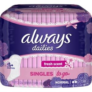 Always Dailies Singles to