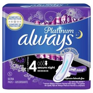Always Platinum Σερβιέτες