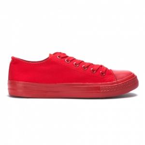 Ανδρικά κόκκινα sneakers Bella