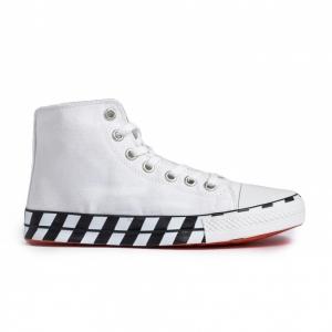 Ανδρικά λευκά ψηλά sneakers