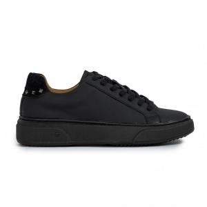 Ανδρικά μαύρα sneakers All