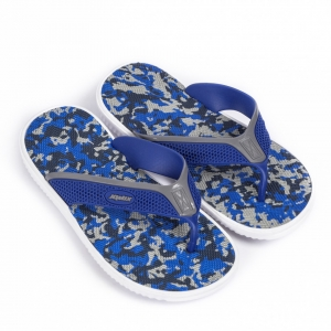Ανδρικές μπλε καμουφλαζ σαγιονάρες