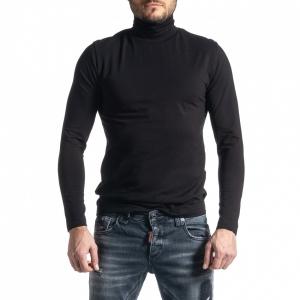 Ανδρική μαύρη μπλούζα Duca