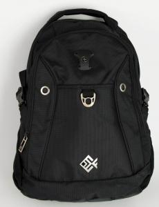 Ανδρική μαύρη τσάντα μηχανής