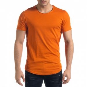 Ανδρική πορτοκαλιά κοντομάνικη