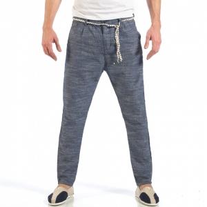 Ανδρικό γαλάζιο παντελόνι