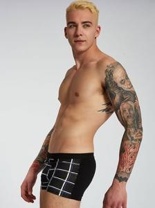 Ανδρικό καρό boxer SH9879.A017+2