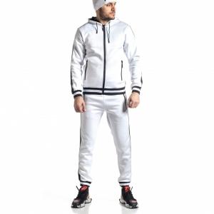 Ανδρικό λευκό αθλητική φόρμα