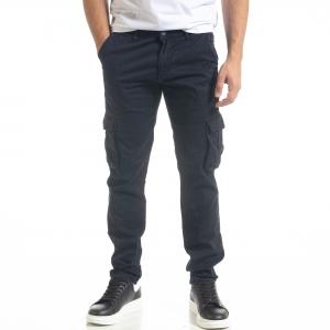 Ανδρικό μπλε παντελόνι Cargo