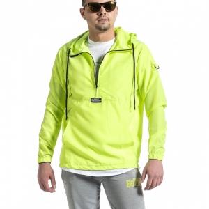 Ανδρικό πράσινο μπουφάν Windbreaker