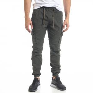Ανδρικό πράσινο παντελόνι