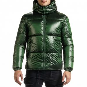 Ανδρικό πράσινο χειμωνιάτικο