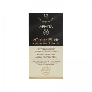 APIVITA MY COLOR ELIXIR No 1.0 Φυσικό Μαύρο 50 & 75ml