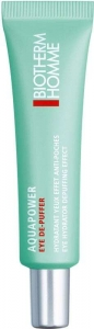 Biotherm Homme Aquapower Eye De-Puffer Eye Gel 15ml (For All Ages)