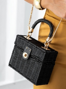 BLACK BOX BAMBOO BAG
