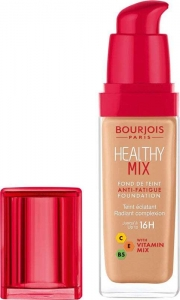 Bourjois Paris Healthy Mix Anti-Fatigue Foundation Makeup 55,5 Honey 30ml