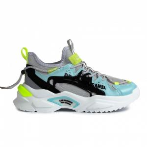 Chunky ανδρικά γκρι sneakers