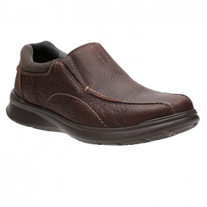 CLARKS COTRELL STEP BROWN