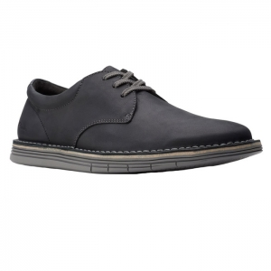 CLARKS FORGE VIBE BLACK LEATHER