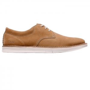CLARKS FORGE VIBE COLA SUEDE