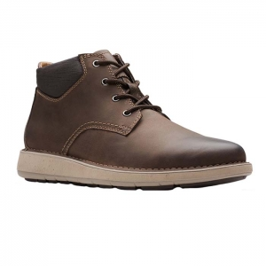 CLARKS UN LARVIK TOP BROWN