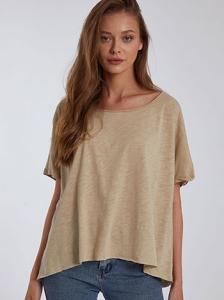 Crop oversized μπλούζα SH4958.4001+5