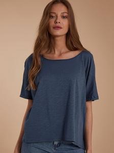 Crop oversized μπλούζα SH4958.4001+6