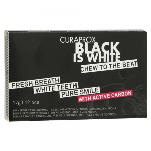 Curaprox Black is White Chew