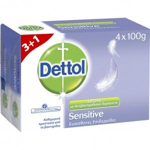 Dettol Πακέτο Προσφοράς Sensitive