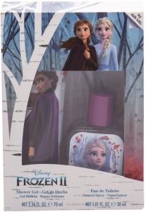 Disney Frozen II Eau de Toilette 30ml Combo: Edt 30 Ml + Shower Gel 70 Ml
