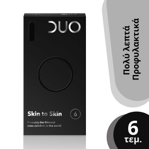 Duo Skin to Skin Λεπτά Προφυλακτικά
