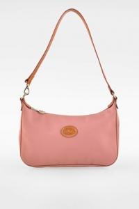 Dusty Pink Nylon Τσάντα Ώμου