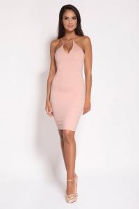 Εφαρμοστό μίνι φόρεμα - Απαλό
