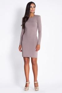 Εφαρμοστό μίνι φόρεμα μακρυμάνικο