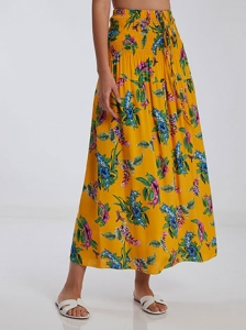 Floral φούστα φόρεμα SH1666.2233+1