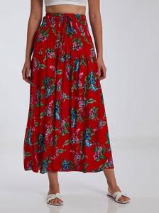 Floral φούστα φόρεμα SH1666.2233+2