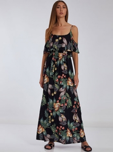 Floral maxi φόρεμα SH1539.8385+2